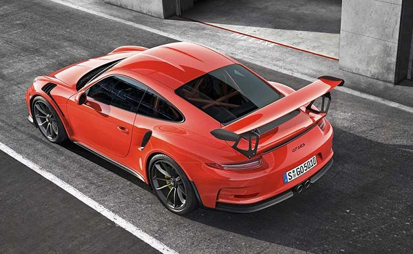 Porsche 911 GT3 RS Rear