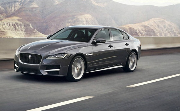 Jaguar XF Front View