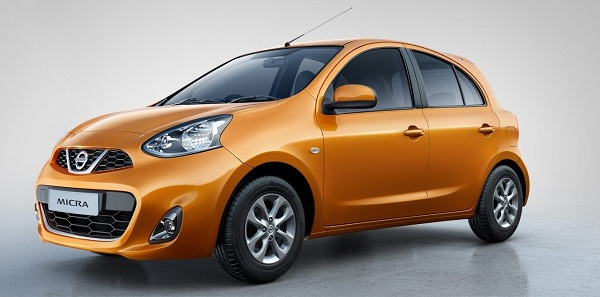 New Nissan Micra Front View