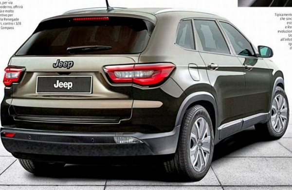 Jeep C-SUV Rear