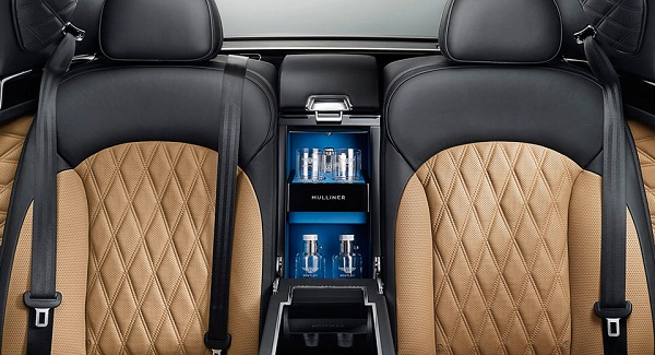 Bentley Flying Spur W12 Rear Seat