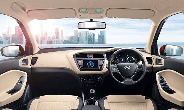 Hyundai Elite i20 Interior