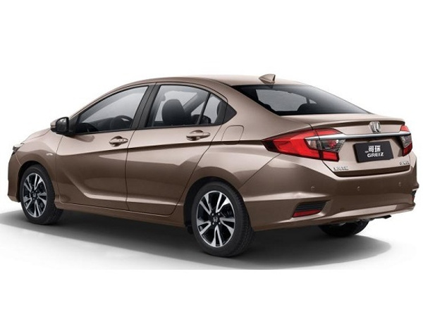 2017 Honda City Rear Side View