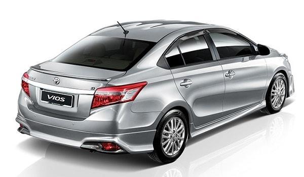 Toyota Vios Rear