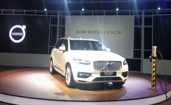 Volvo XC90 Excellence T8 Hybrid Launch