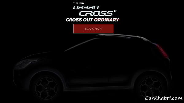 Fiat urban Cross Teaser