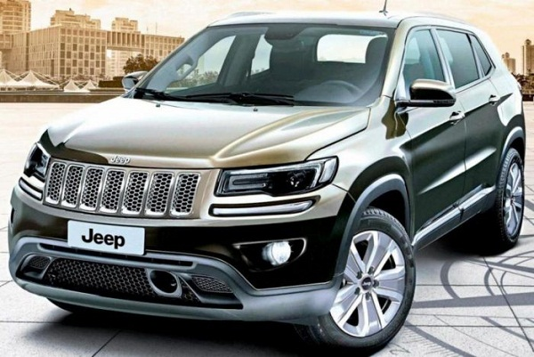 Jeep Compass SUV Front View