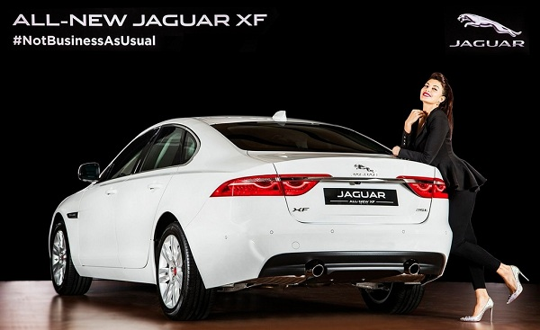 2016 Jaguar XF Facelift Rear