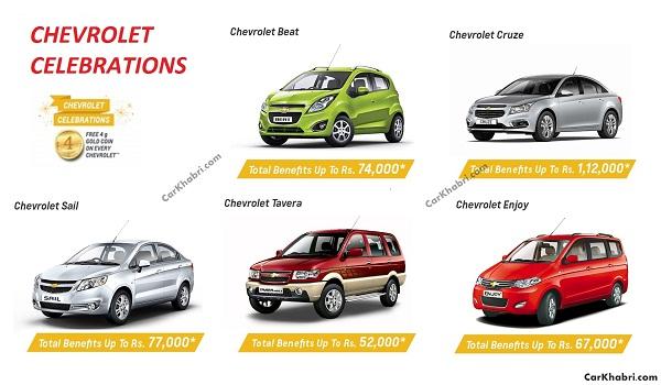 Chevrolet 2016 offer
