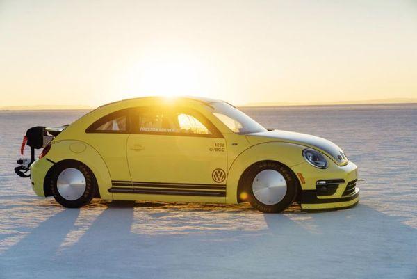 Volkswagen Beetle LSR Side View