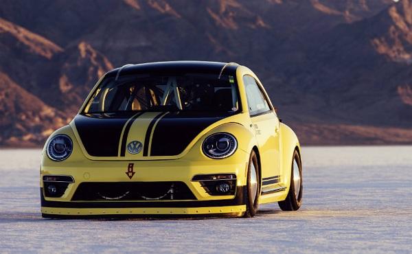 Volkswagen Beetle LSR Front View