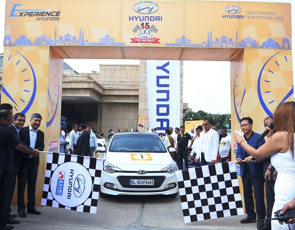 Flag-Off of Hyundai Experience