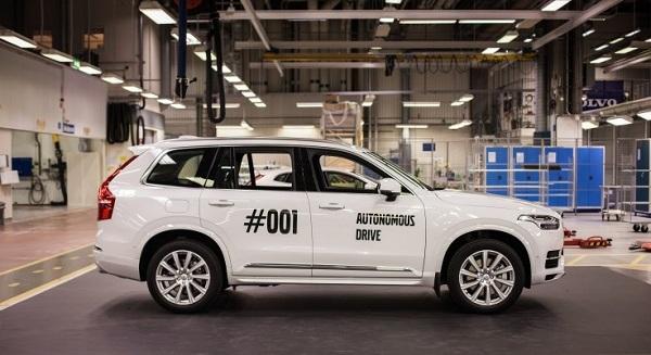 Volvo Self Driven Car