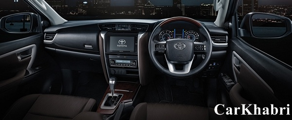 2016 Toyota Fortuner Steering Wheel