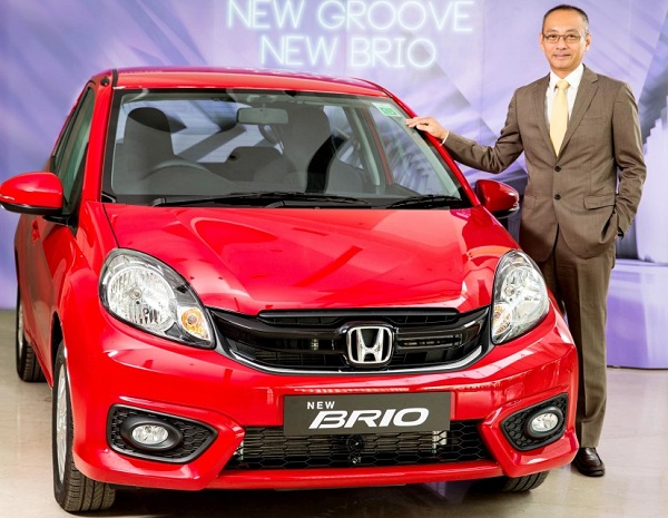Honda Brio Facelift Launch