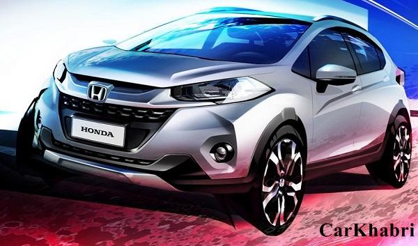 Honda WR-V Teaser