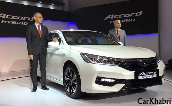 Honda Accord Hybrid Launch