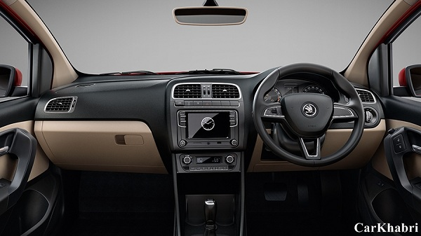 Skoda Rapid 2016 Steering Wheel