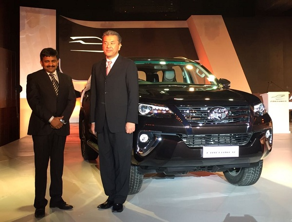 Toyota Fortuner Launch