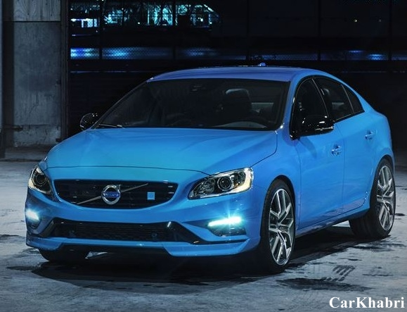 Volvo S60 Polestar Front Side View