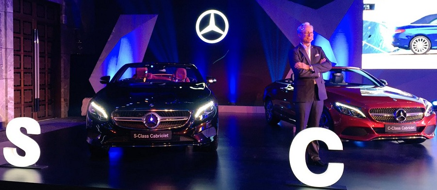 Mercedes-Benz S 500 Cabriolet and C 300 Cabriolet Launch