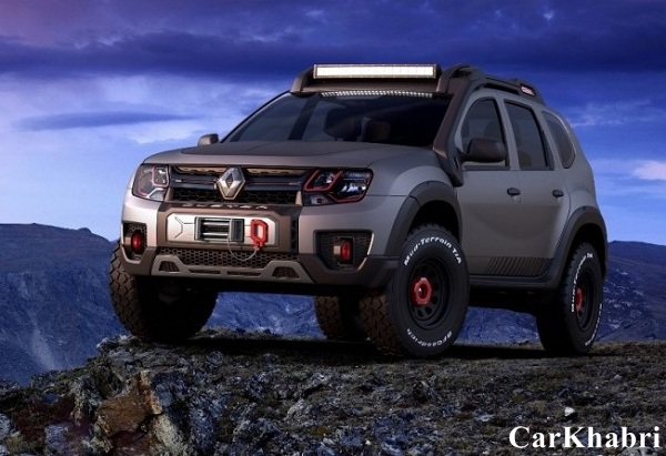 Renault Duster Extreme Concept Front View