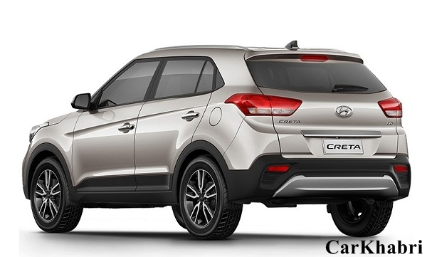 Hyundai Creta Facelift Rear Side View