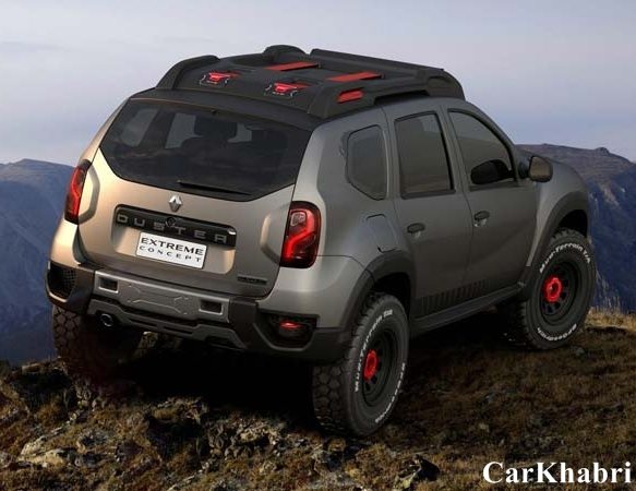 Renault Duster Extreme Concept Rear View