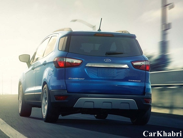2017 Ford EcoSport Rear View