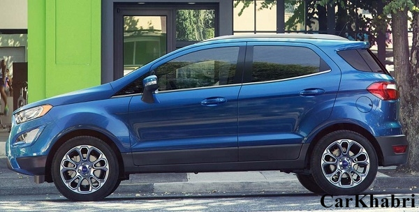Ford EcoSport 2017 Side View