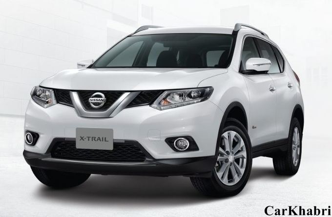 Nissan X-Trail Front View