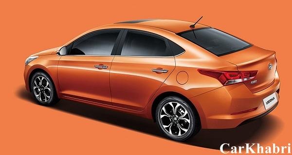 2017 Hyundai Verna Rear Low View