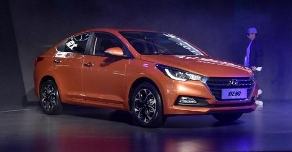 2017 Hyundai Verna Front Low View