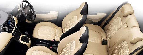 Hyundai Xcent Interior View