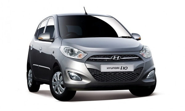 Hyundai i10 Front Low View