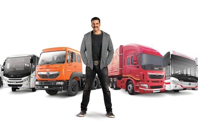 Akshay Kumar as Ambassador of Tata Commercial Vehicles