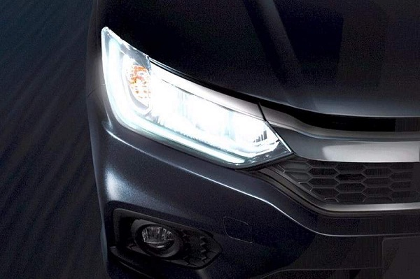 Honda City 2017 Facelift Headlight