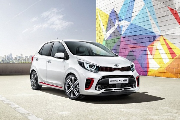 Kia Picanto Front Low View