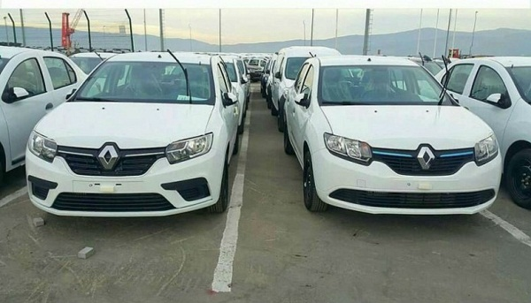 Renault Scala With New Symbol