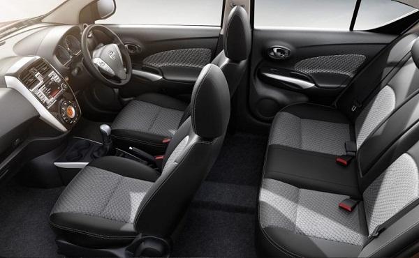 2017 Nissan Sunny Interior