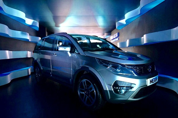 Tata Hexa Front Low View