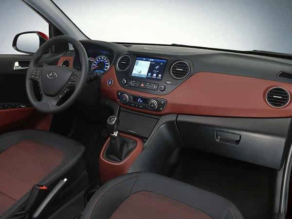 Facelift Hyundai Grand i10 Interior