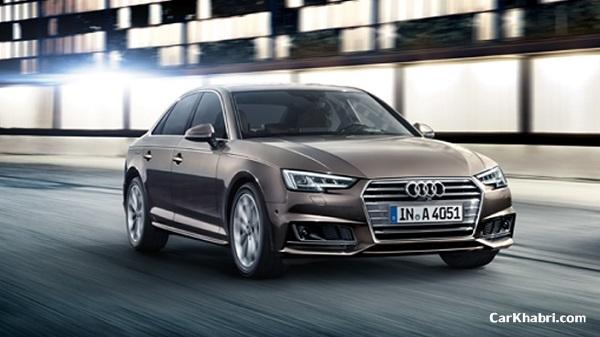 New Audi A4 Diesel