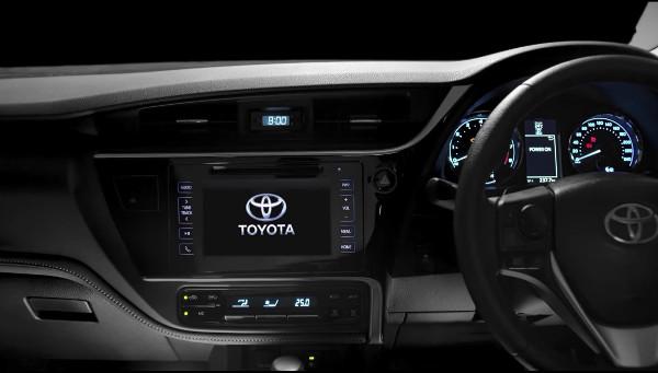 2017 Toyota Corolla Altis Interiors