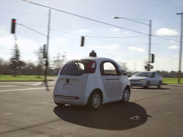 Google's Self Driving Car Being Test on Roads