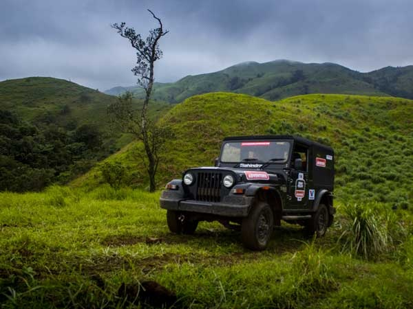 Mahindra Thar Front Low View