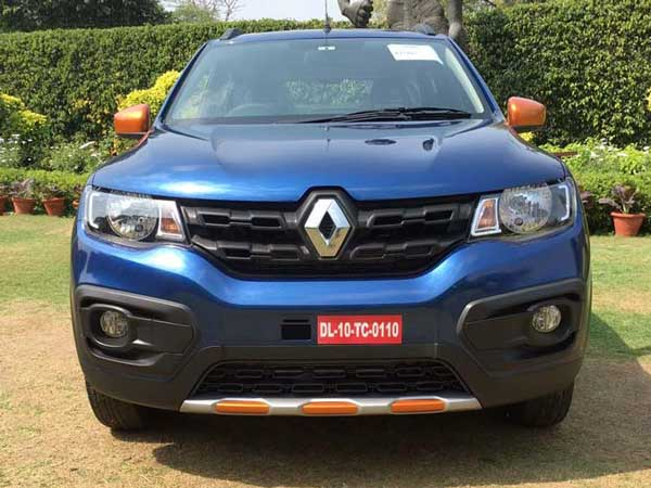 Renault Kwid Climber Front View