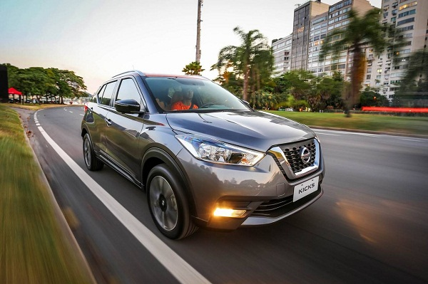 Nissan Kicks Front Low View