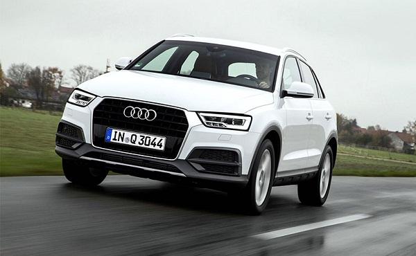 Audi Q3 Front Low View