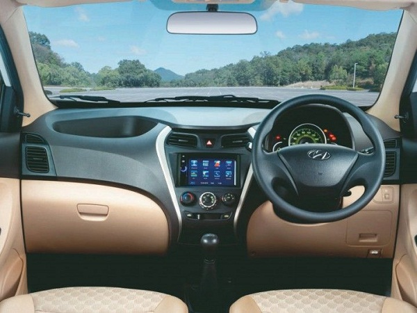 Hyundai Eon Sports Edition Interior